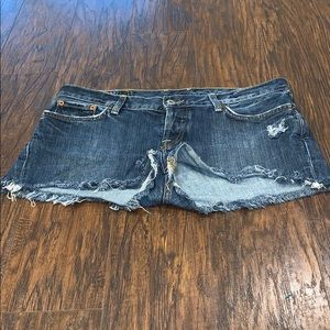 Lucky Brand Distressed shorts
